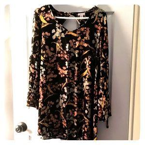 Flowy Floral Mini Dress